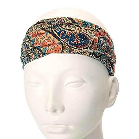 Claire's Girls and Womens And Paisley Print Headwrap