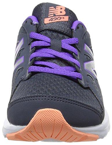 New Balance 490v4, Scarpe Sportive Indoor Donna Multicolore (Grey)