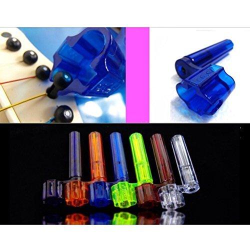 Imagen de arpoador color al azar, plástico  cuerdas winder para la mayoría de  acústicas y eléctricas alternativa