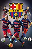 empireposter 717986 Fußball FC Barcelona - Players - Fussball Poster, Papier, Bunt, 91.5 x 61 x 0.14 cm