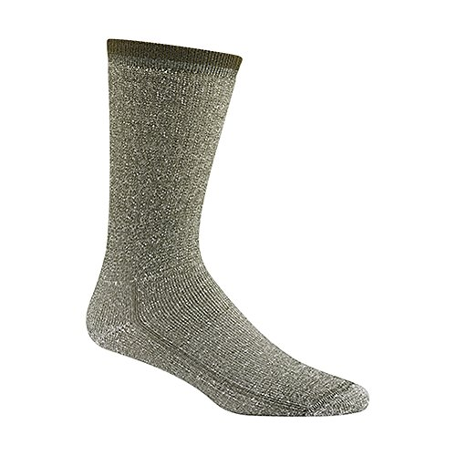 Wigwam mérinos Comfort Hiker Chaussettes (Lot de 2) – Olive, Large/Taille 36–11.5