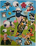 Shaun the Sheep A4 Sheet of Stickers