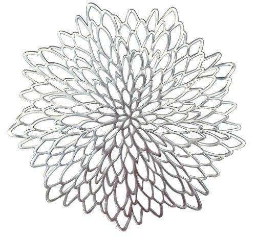 Platzdeckchen Round Silver Leaf