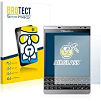 BROTECT AirGlass pellicola vetro flessibile per BlackBerry Passport Silver Edition (estremamente robusta, ridotto spessore, elevata trasparenza, anti-impronte e antimacchia, installazione senza bolle)