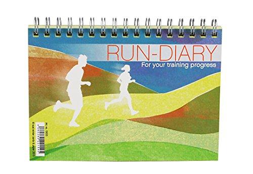 SUSI hiver Design & Paper Séances d'entraînement du Courir Marathon, le cyclisme Triathlon Bâche et erfassen, format A6, nature Papier