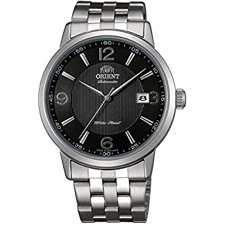 Orient Reloj Analógico para Hombre de Automático con Correa en Acero Inoxidable FER2700BB0