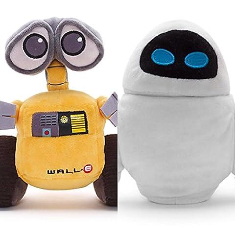 Disney WALL-E et EVE Mini Peluche Set 18cm