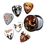 Paramore Set of 6 Loose Guitar Médiators in Tin ( Collection B )
