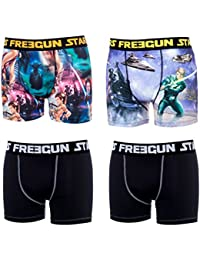 Freegun - Lot de 4 boxers homme Star Wars