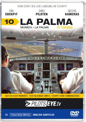 "PilotsEYE.tv | LA PALMA | Cockpitmitflug A320 | CONDOR Berlin | ""Airial Island"" | B..."
