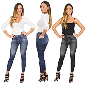 LeJeans - Lot de 3 jeggings