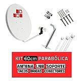 diesl. com–Kit parabole 60cm, support, LNB et récepteur satellite     le matériel de...