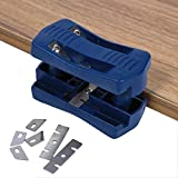 eujiancai Double Edge Laminate Trimmer Cutters Woodworking Tool Steel Blade for Wood Plastic