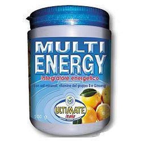 Ultimate Italia MU-ENA Multi Energy Mix di 6 Fonti Energetiche - 500 gr