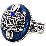 1 anello con stemma della famiglia dei vampiri, Salvatore, Damon, Stefan, per tifosi