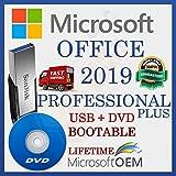 MS Office 2019 Pro PLUS licenza al dettaglio | Unità USB + DVD | Con fattura | 32/64 bit | Versione completa | Spedizione veloce | NUOVO | Lingua : Italiano |