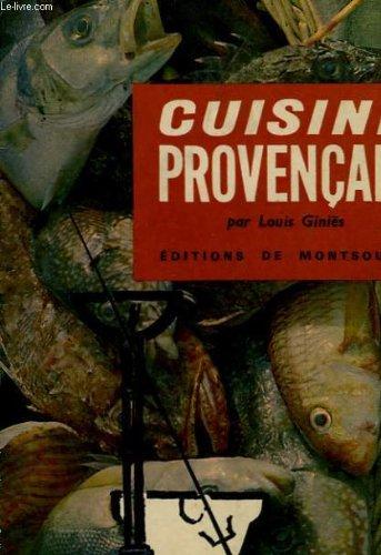 Cuisine provencale par Louis Giniès