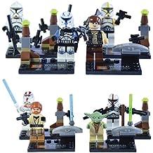 SY World 8 Minifiguras de Star Wars compatibles con Lego - Kit 2