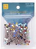 EZ Quilting 150-Piece Glass Head Pins