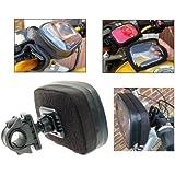 Imperméable GPS SatNav housse de protection avec Bike ou Cyclomoteur Guidon Montages (SKU 8998)