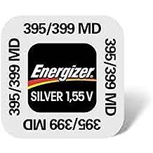 Energizer 395-399 SR927SW SR927W 0% Mercury óxido de plata de botón para reloj - 10 unidades