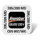 Energizer 395/399-Set di due pile da 1,55V all'ossido d'argento