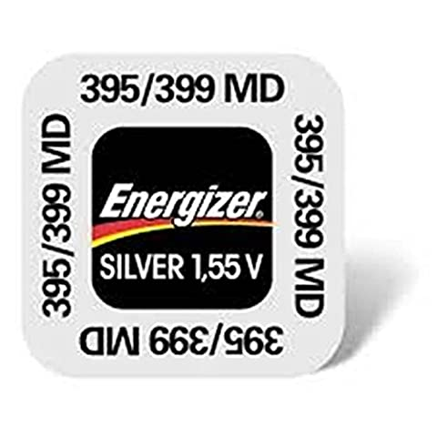 1 x Energizer 395-399 SR927SW SR927W 0% Mercury Silver Oxide Button Cell Watch Battery