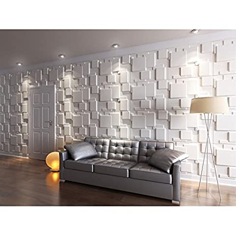 Panel decorativo para pared (efecto 3D)