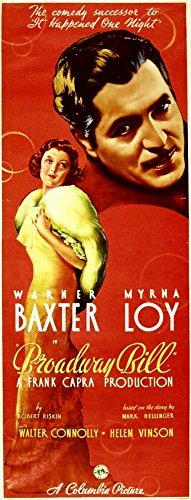 Poster Masterprint (60,96 x 91,44 cm) (Broadway Bill-movie Poster)