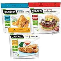 PROMO GARDEIN PACK DE 3 : TENDERS, FISH FILETES, HAMBURGUESA BEEFLESS VEGANO