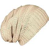 Caripe Mütze Long Beanie Strickmütze - viele Farben und Modelle - Snö (visk - Sand)