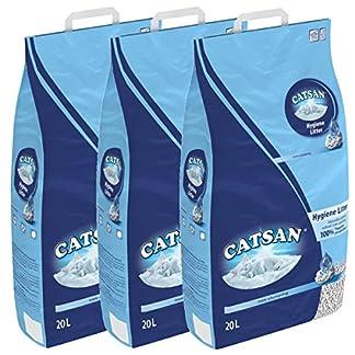 60 litre catsan litter hygiene (3 x 20 litre) 60 litre Catsan Litter Hygiene (3 x 20 litre) 51aJTWFRbaL