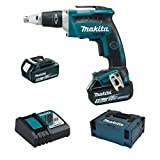 Makita DFS452RTJ 4000RPM 18V cordless screwdrivers/screwguns - Cordless Screwdrivers & Screwguns (18 V, 5 h, 79 mm, 254 mm, 259 mm, 1.8 kg)
