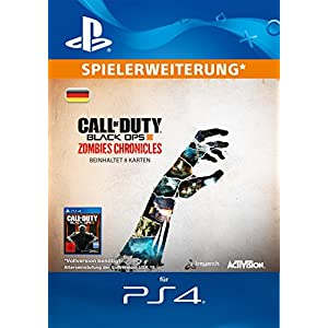 Call of Duty Black Ops III Zombies Chronicles Edition DLC [PS4 Download Code – deutsches Konto]