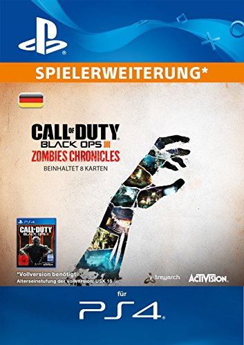 Zombies-black 2 Ops (Call of Duty Black Ops III Zombies Chronicles Edition DLC [PS4 Download Code - deutsches Konto])