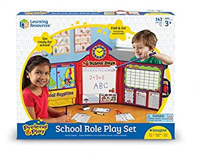 Learning Resources Pretend & Play Original School Set (UK version) by Learning Resources Uk Direct Account
