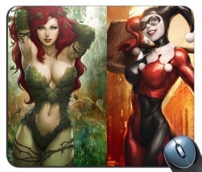 n Poison Ivy Ladies Together Mouse Pad ()