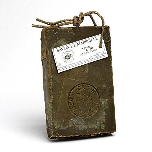 Tranche de savon 72% Huile d'Olive 250gr - Maison du Savon de Marseille