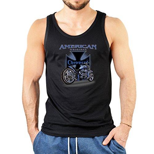 super Figur mit coolem Herren Tank-Top Farbe: schwarz :