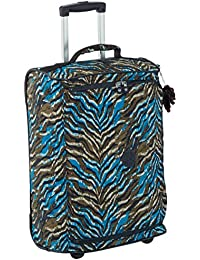 Kipling K15384E40 Maleta, Color Azul (Blue Animal Pr)