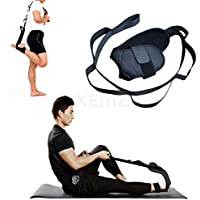 Fitness Yoga correa, tobillo ligamentos elástico banda, estiramiento de isquiotibiales, terapia física cinturón con manejo de bucles, pierna y pie elástico ayuda, para entrenamiento flexibilidad formación Instrucción danza gimnasio Rehab tensión