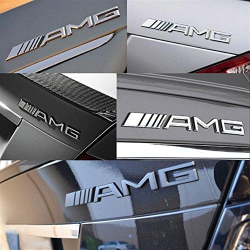 Generic 3d amg car badge sticker for all mercedes benz models