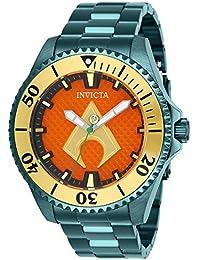 c40126bdf080 Invicta DC Comics Reloj de Hombre automático Correa y Caja de Acero 27139