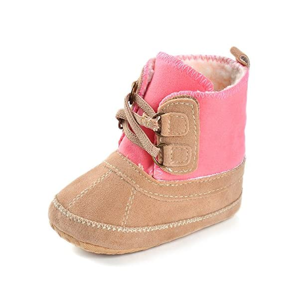Baby Girls' Plush Boots