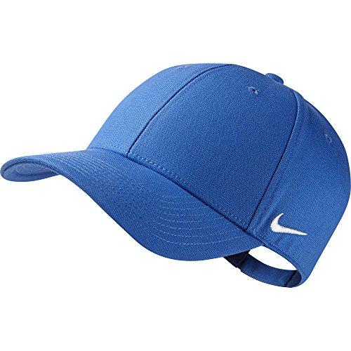 Nike Visor Team Club - Berretto con visiera, Blu (Royal Blue/Football White), Taglia unica