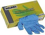Maurer 15030634 - Guante desechable nitrilo, talla 7/M, caja 100 unidades