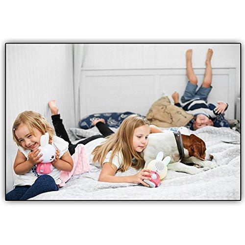 Alilo Honey Bunny Edutainment für Ihr Kind – Mediaplayer – inkl. ausgesuchter Geschichten und Lieder) Babyspielzeug Nachtlicht Einschlafhilfe Storyteller - 3