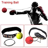 lzndeal bola de combat de pelota de combat Reaction Training Ball portátil Boxing Punch Ball For Training and Fitness for Kids Men Women
