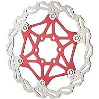 Lixada Bicicleta MTB Flotador Disco Rotor Placa 6 Pernos 160mm