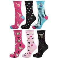 Zest Ladies Cotton Rich Assorted Design Socks